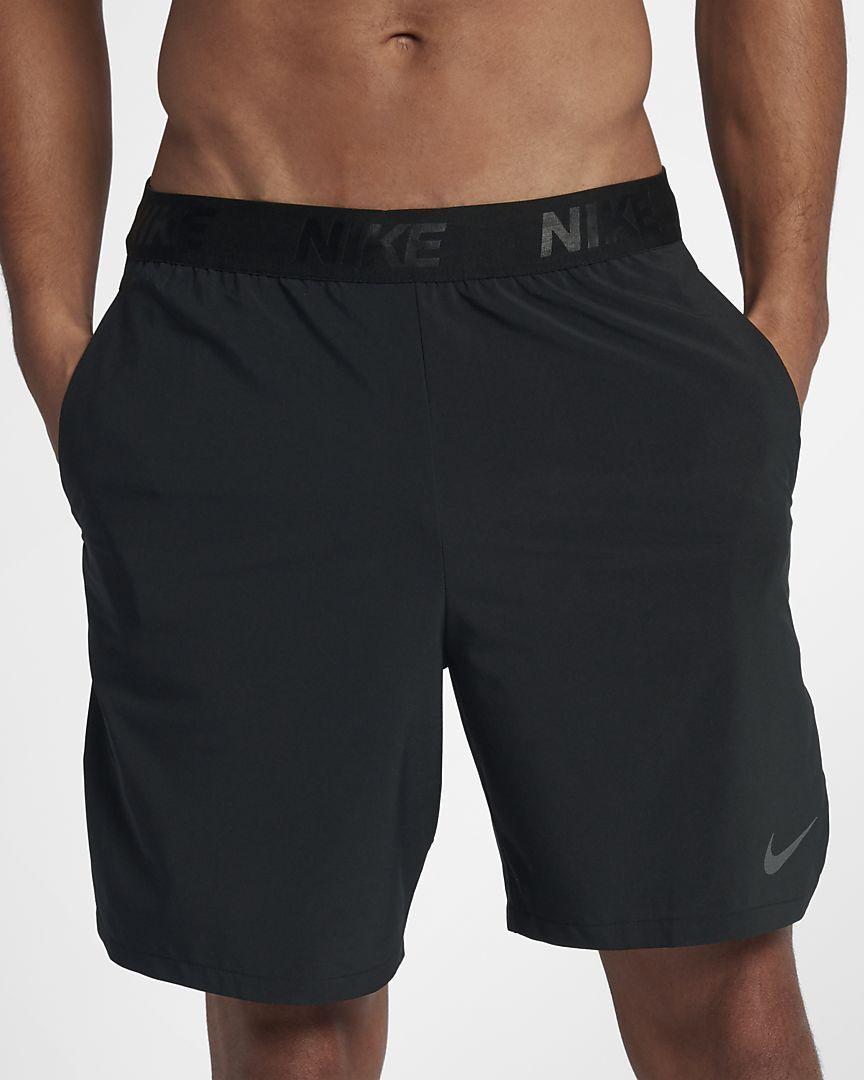 """Nike Flex 8/"""" Training Shorts Gym Blue Black  886371 Large"""
