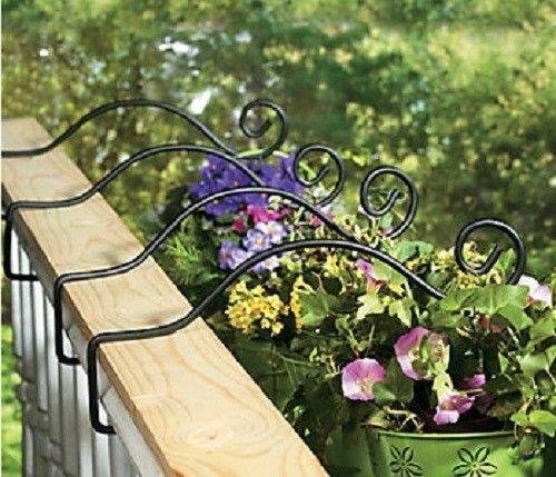 Deck Plant Hanger Hooks  | Pinteres