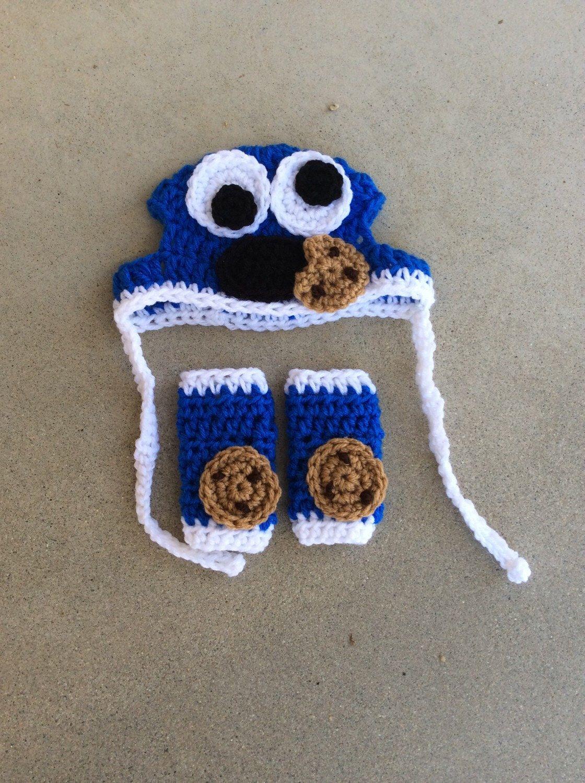 Cookie Monster Set-silly Dog hats-pugs-dog legwarmers-dog ...