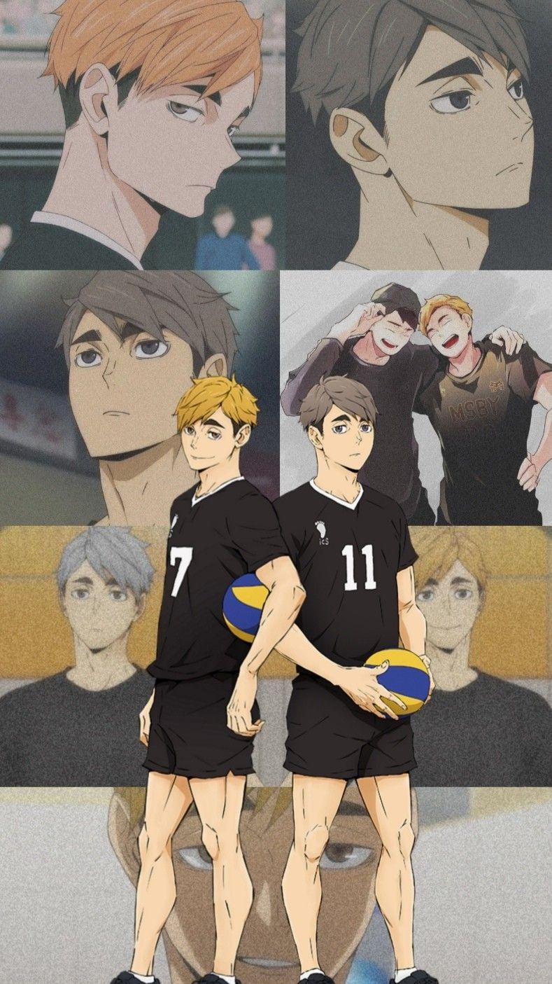 Miya Twins Wallpaper Haikyuu Anime Haikyuu Fanart Haikyuu Manga