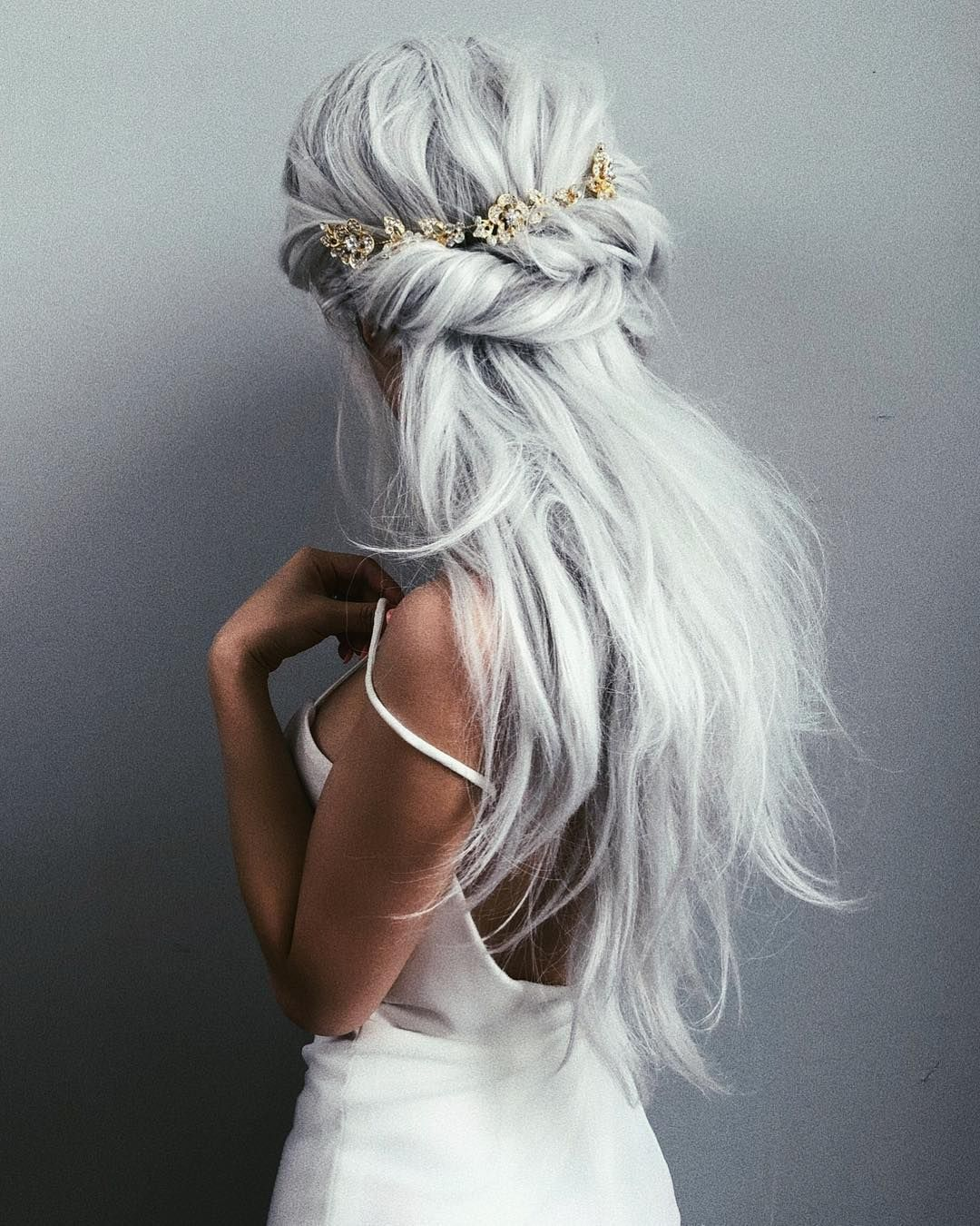 Wedding Hair Inspiration : Cara Clyne