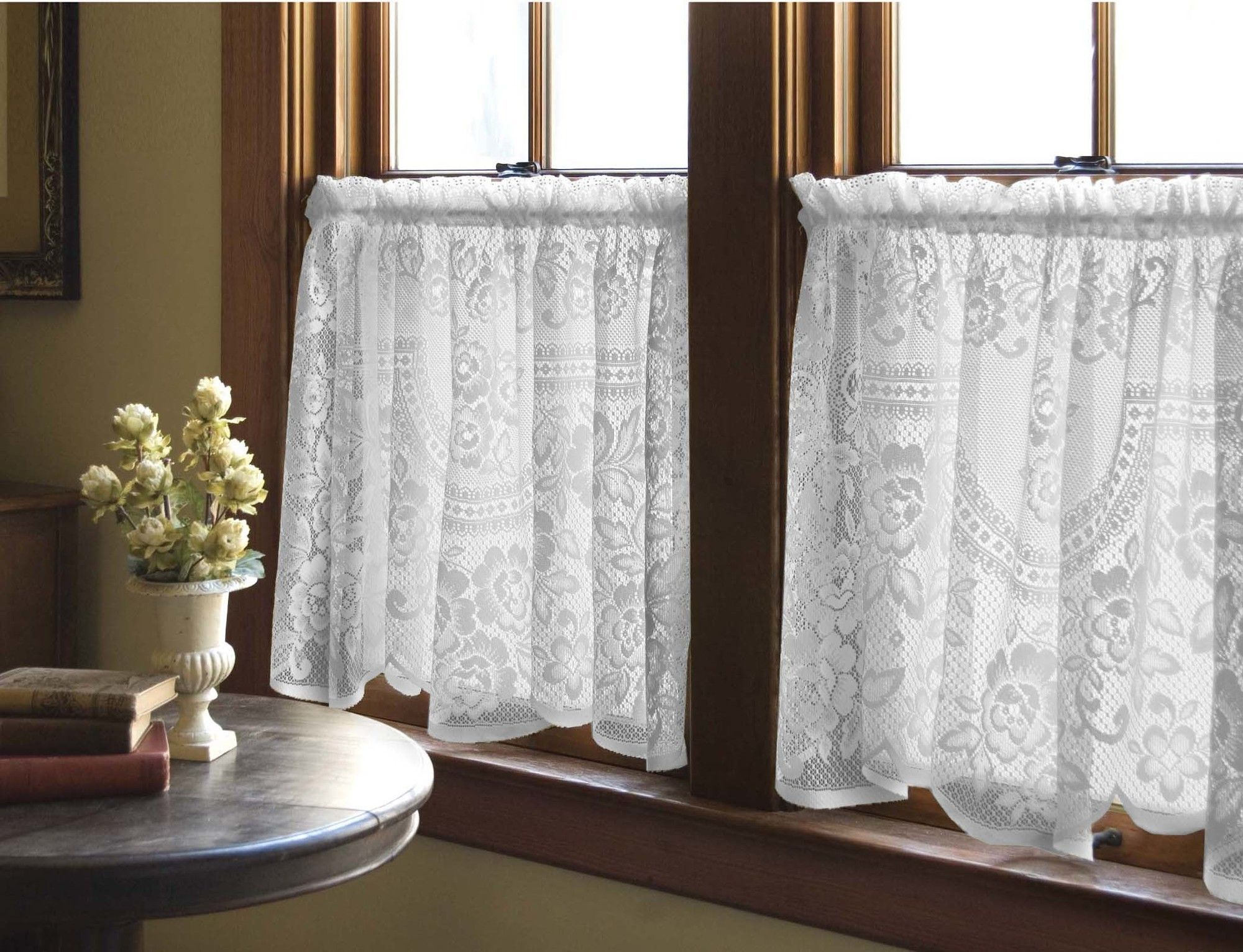 Heritage Lace Victorian Rose Tier Curtain Victorian Curtains Rose Curtains Curtains Living Room #tier #curtains #living #room