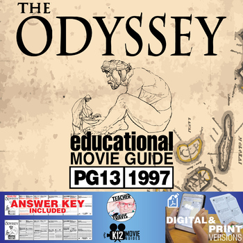The Odyssey Movie Guide Questions Worksheet (PG13