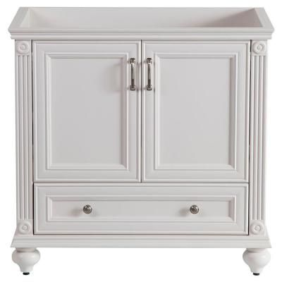 Home Decorators Collection Annakin 36 in. Vanity Cabinet Only in Cream-CLSD3621-CR at The Home Depot