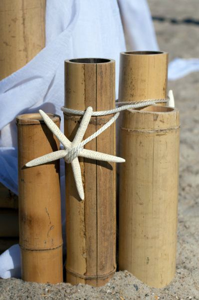 Bamboo Pole Wedding Arbor