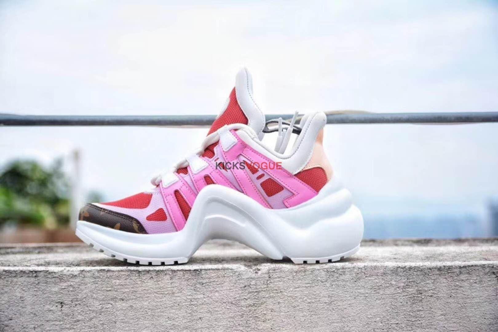 8947a8bbd4d9 Louis Vuitton LV Archlight Sneaker Pink