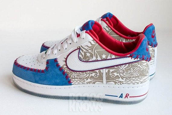 Nike Air Force 1 Low Puerto Rico 2013
