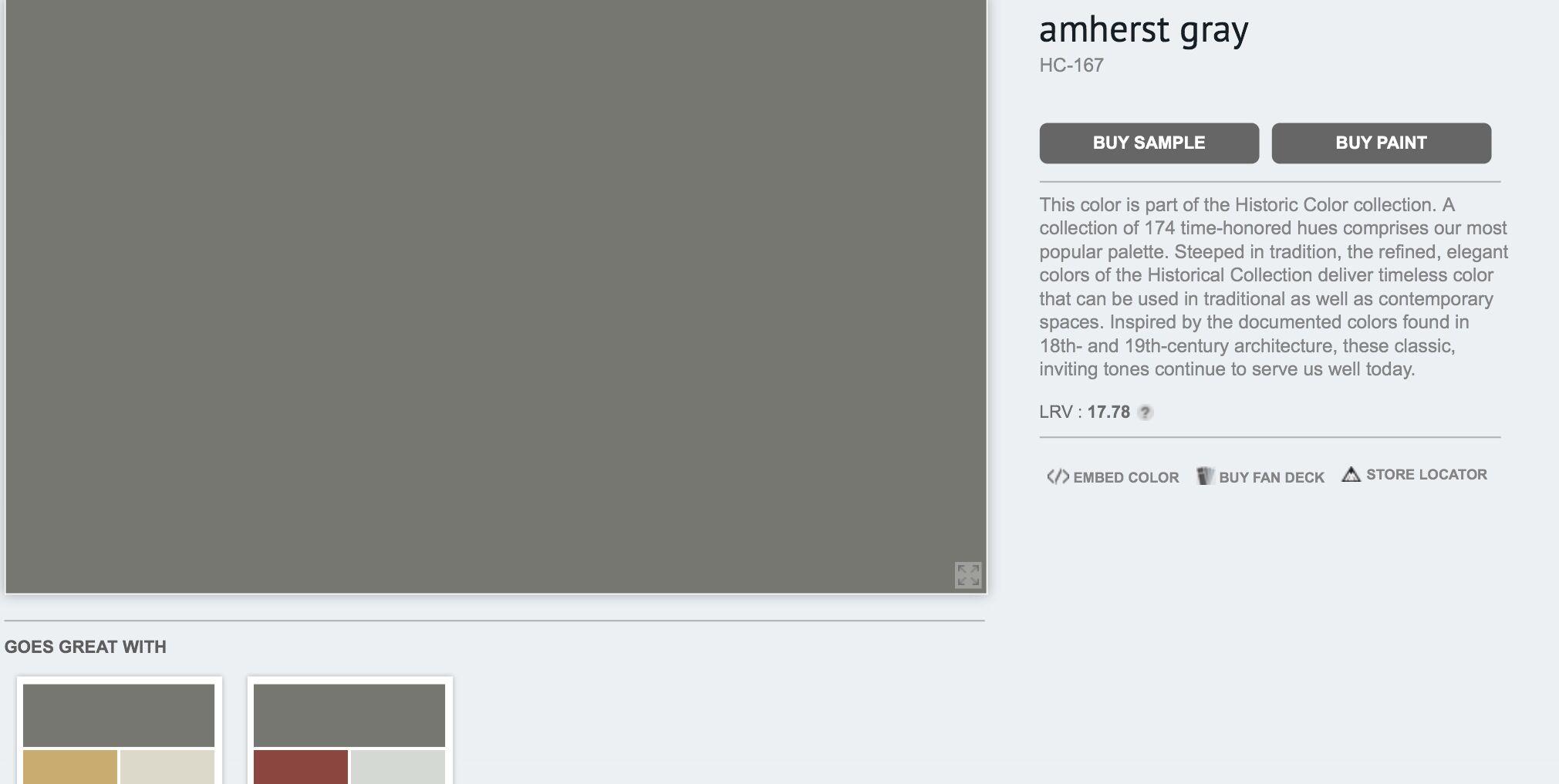 Best Benjamin Moore Amherst Gray Hc 167 Buying Paint 640 x 480