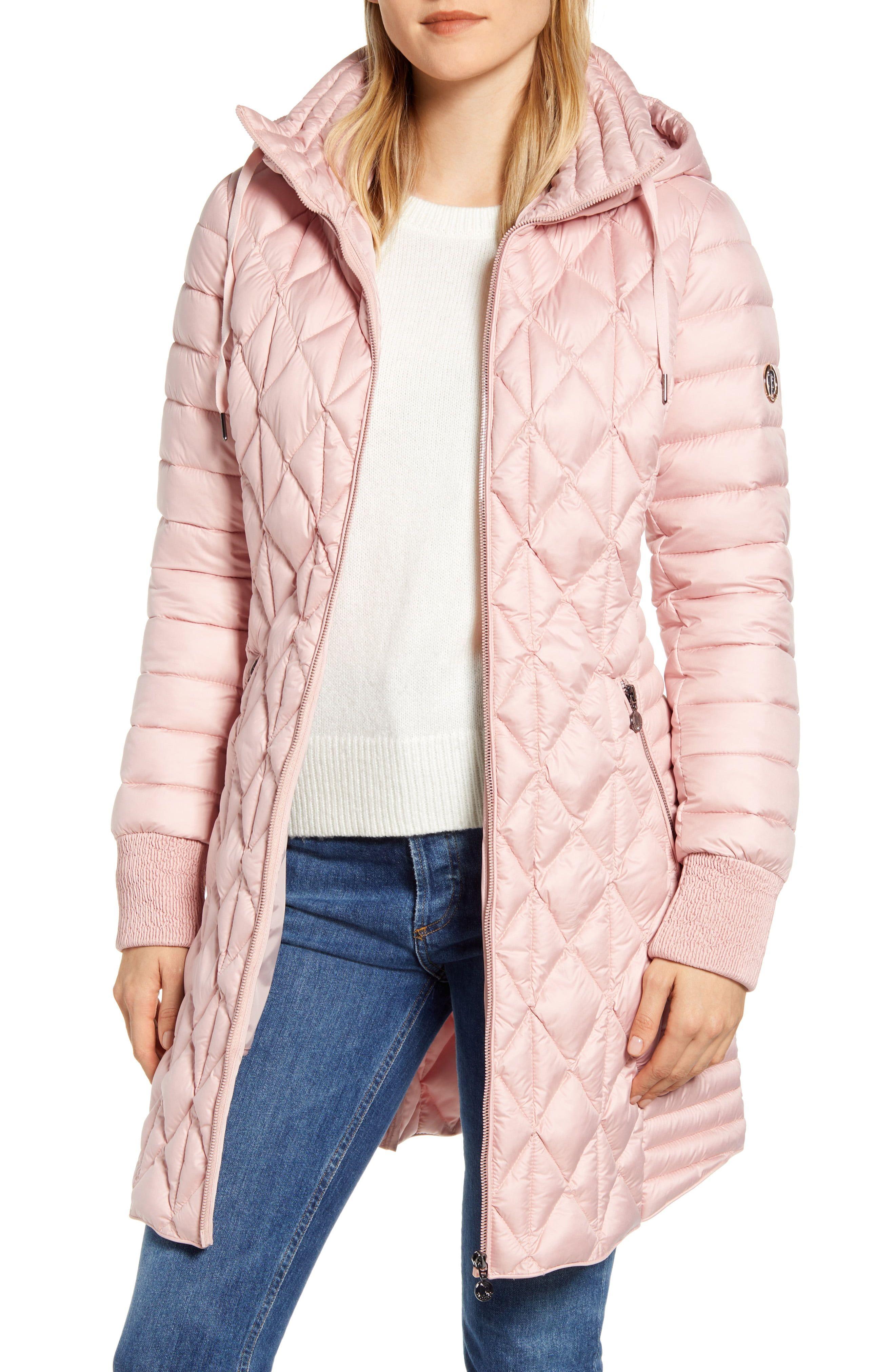 Bernardo Multi Quilt Packable Hooded Puffer Coat Nordstrom Puffer Coat Coat Puffer [ 4048 x 2640 Pixel ]