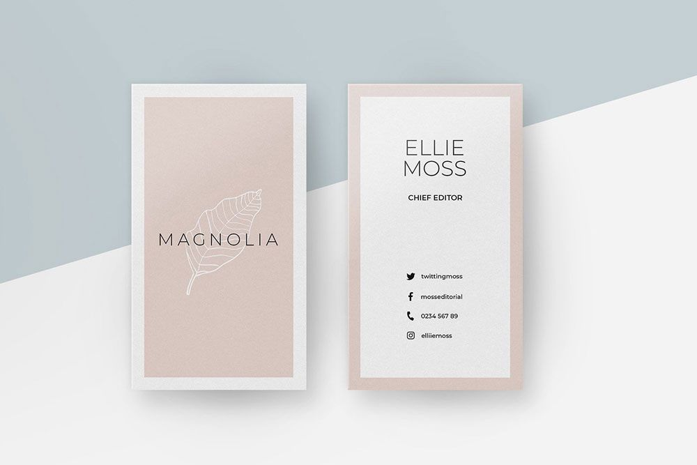 38 Vertical Business Card Mockups And Templates For Business Colorlib Business Card Mock Up Vertical Business Cards Business Card Branding