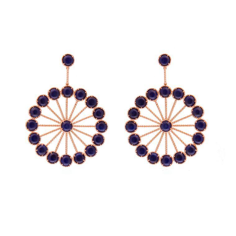 Carla Amorim the Brazilian jewellery queen Earrings crafts Color