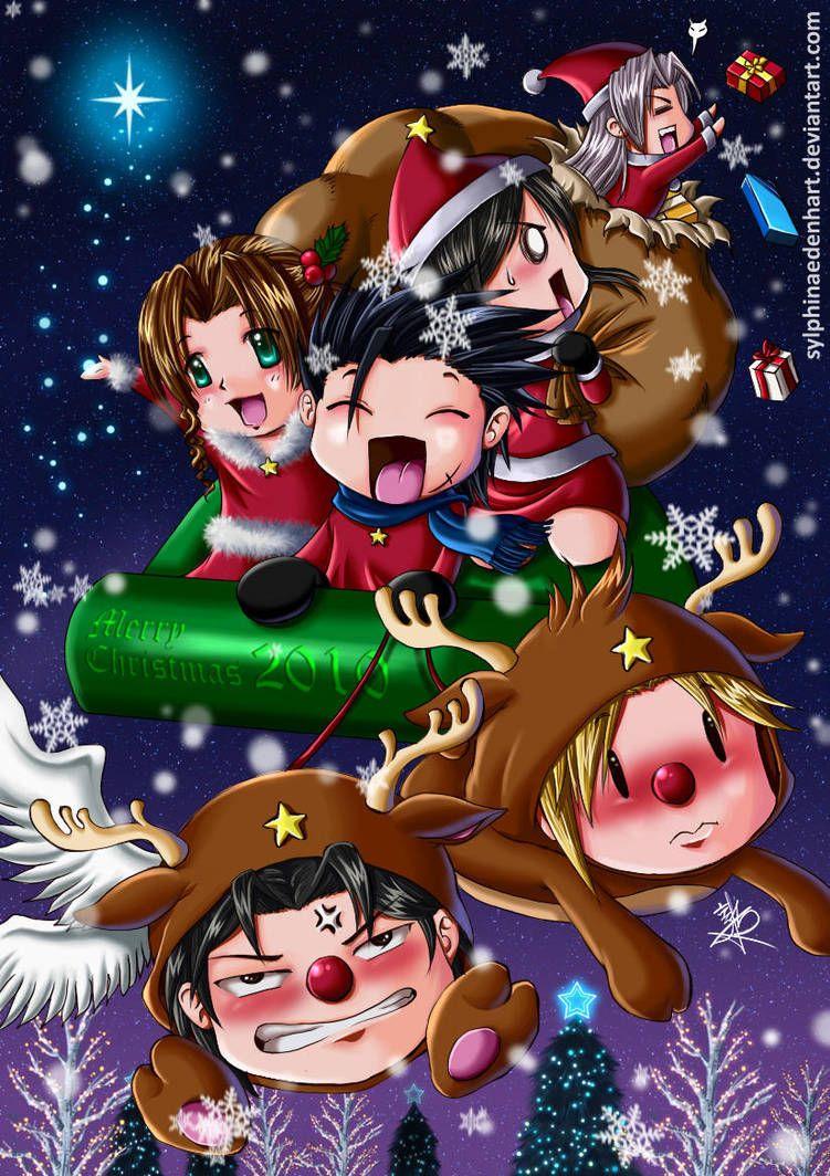 Final Fantasy Christmas.Final Fantasy Christmas 2010 By Sylphinaedenhart Final