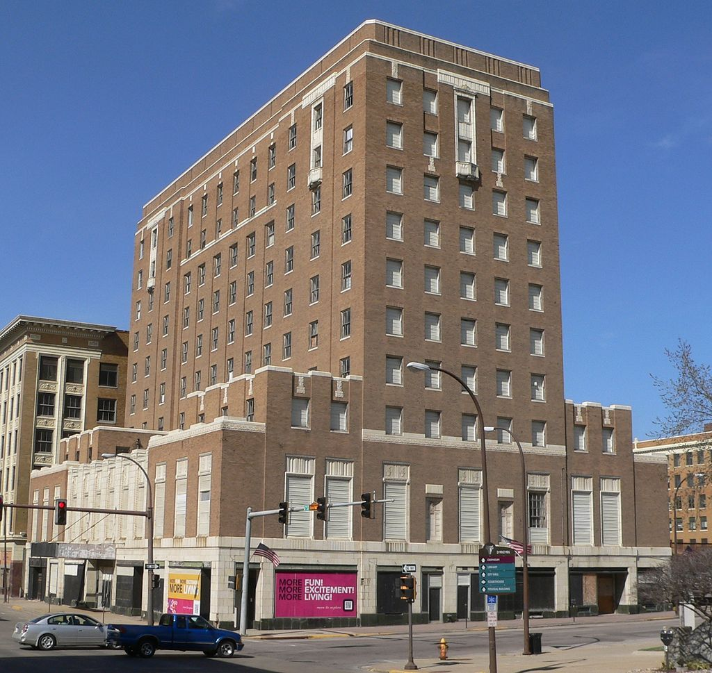 Warrior Hotel In Woodbury County Iowa Sioux City Iowa National Register Of Historic Places Sioux City