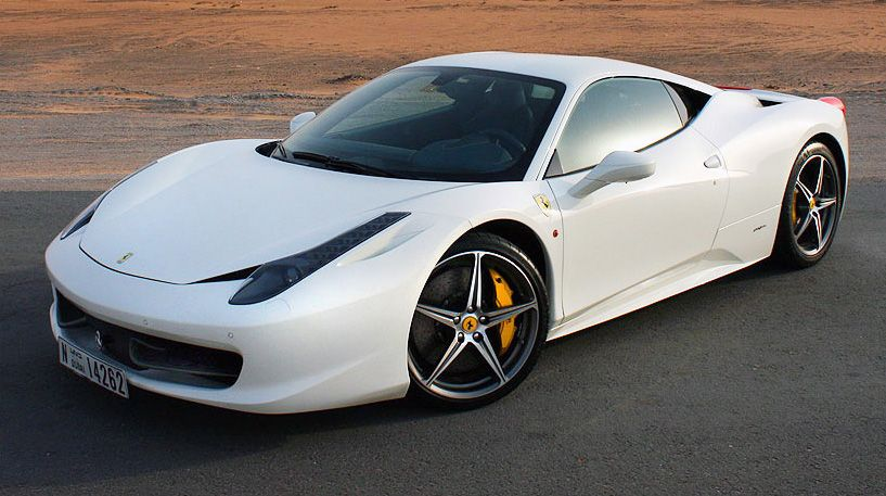 2017 Ferrari 458 Price >> Ferrari 458 Italia Coupe Photo Center Car Photo Pinterest