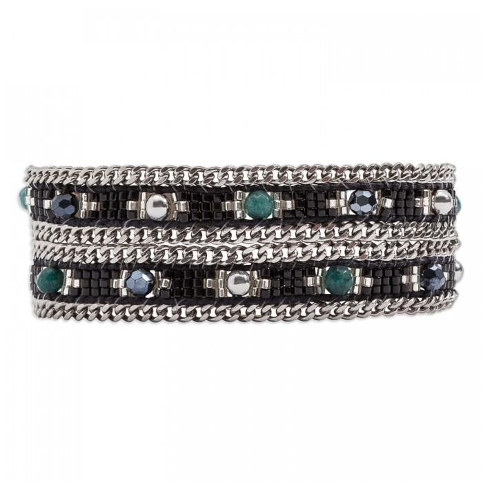 grande vente fefb4 a27f7 Hipanema Bracelet Femme Amalia Black | Fashion Jewelry ...
