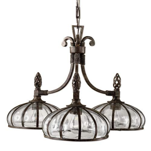 Galeana Three-Light Chandelier