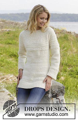 Ravelry 157 5 Elinor Dashwood Pattern By Drops Design Knitting