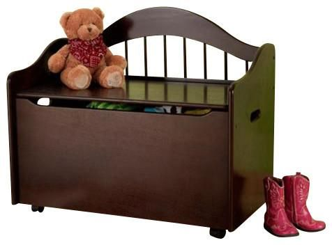 Kidkraft Limited Edition Toy Box Espresso Toy Boxes