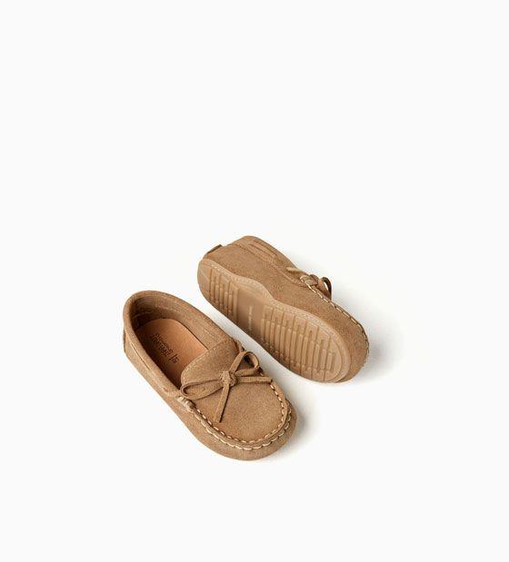 ajuste clásico 3e235 b52a9 Imagen 6 de MOCASÍN PIEL de Zara | Zapatos niños | Calzado ...