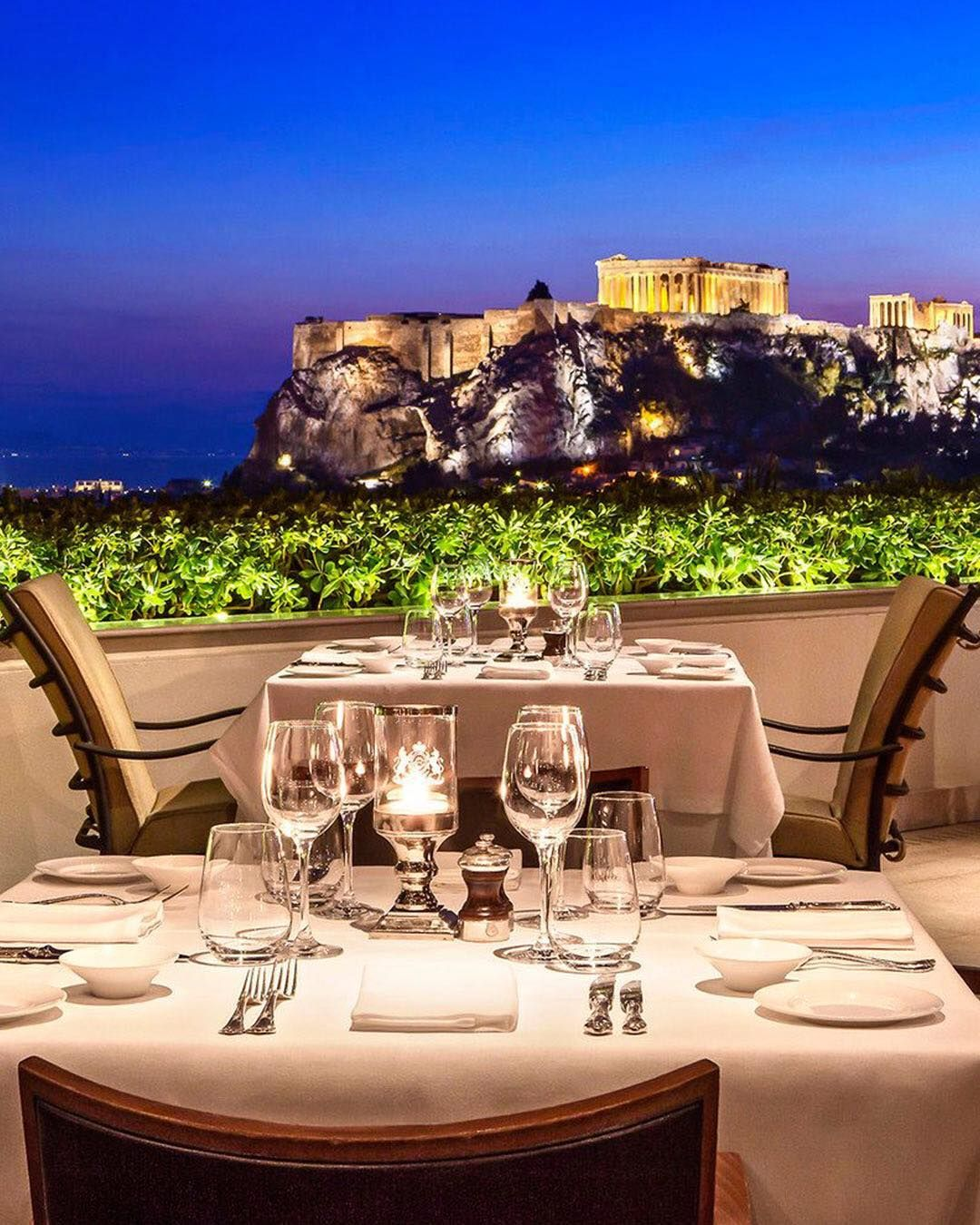 Is It The Superb Food And That Make Athens Gb Roof Garden So Popular Or Those Incredible Views Of The A Athens Hotel Luxury Collection Hotels Athens Vacation