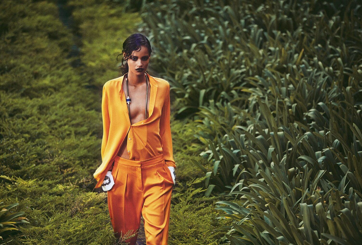 Malaika Firth In Days Of Heaven By Norman Jean Roy For Porter 3 Archives Anne Of Carversville Norman Jean Roy Fashion Editorial Fashion