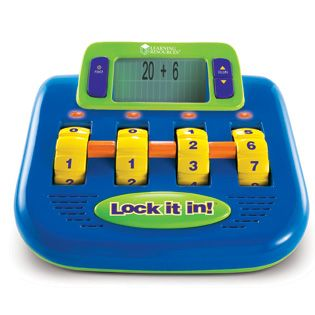 Lock It In!™ Electronic Math Challenge - Electronic Toys ...