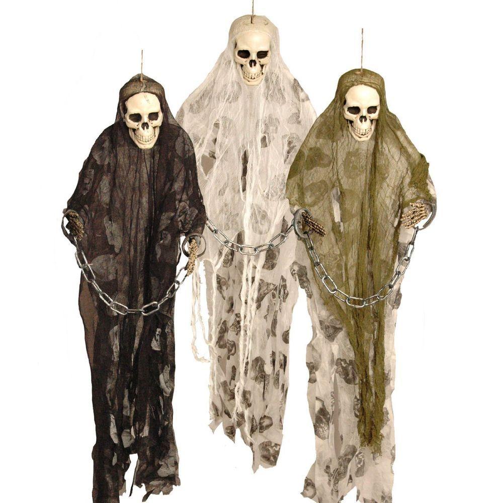 Skeleton Skelett Karneval Fasching Halloween Gruseldeko Deko Accessoires 92 cm