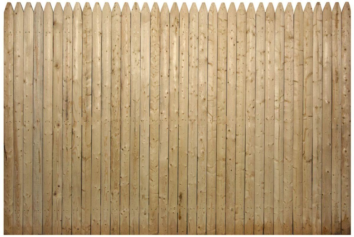 6 High Spruce Stockade Panel Wood Fence Fence Wood