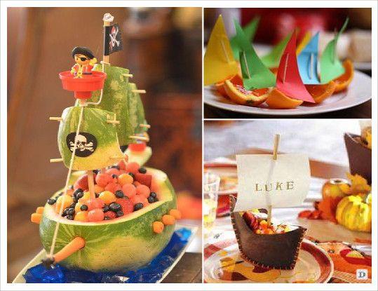 anniversaire pirate candy bar fruit orange pasteque anniversaire noa pinterest fruit. Black Bedroom Furniture Sets. Home Design Ideas
