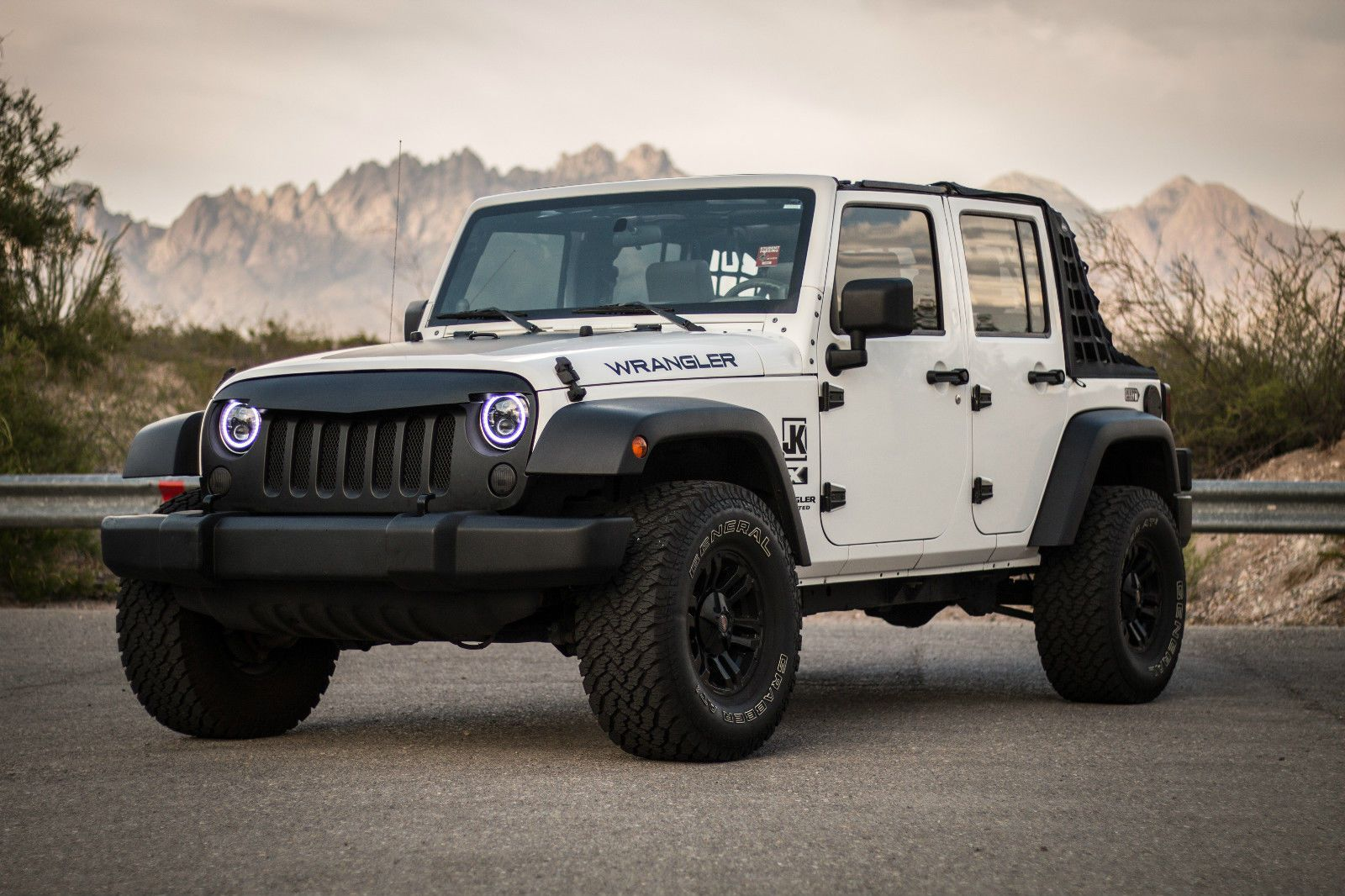 Car Brand Auctioned Jeep Wrangler Unlimited X Sport Utility 4 Door