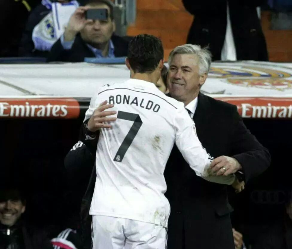 Best Coach and Best player in the world.