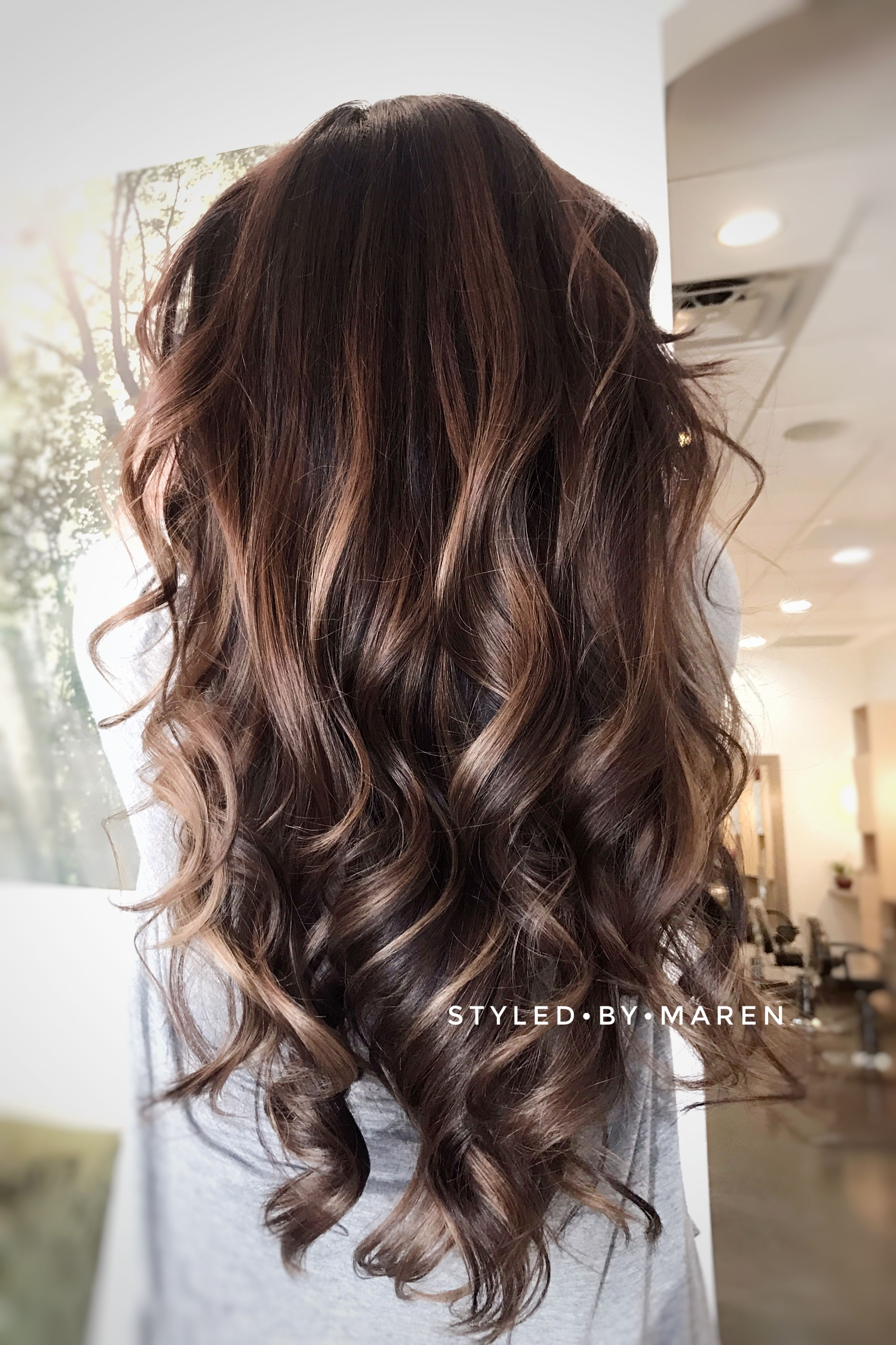 Obsessed With This Beautiful Balayage Created With Oway Organic Hair
