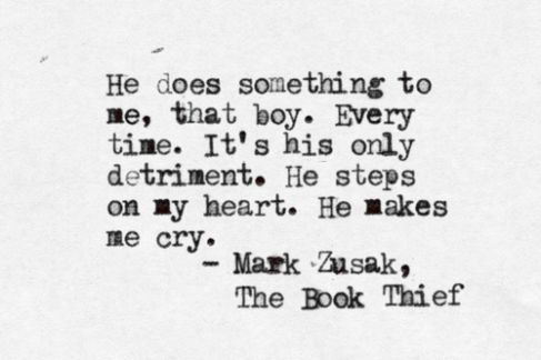 The Book Thief – Under The Night Starry Sky