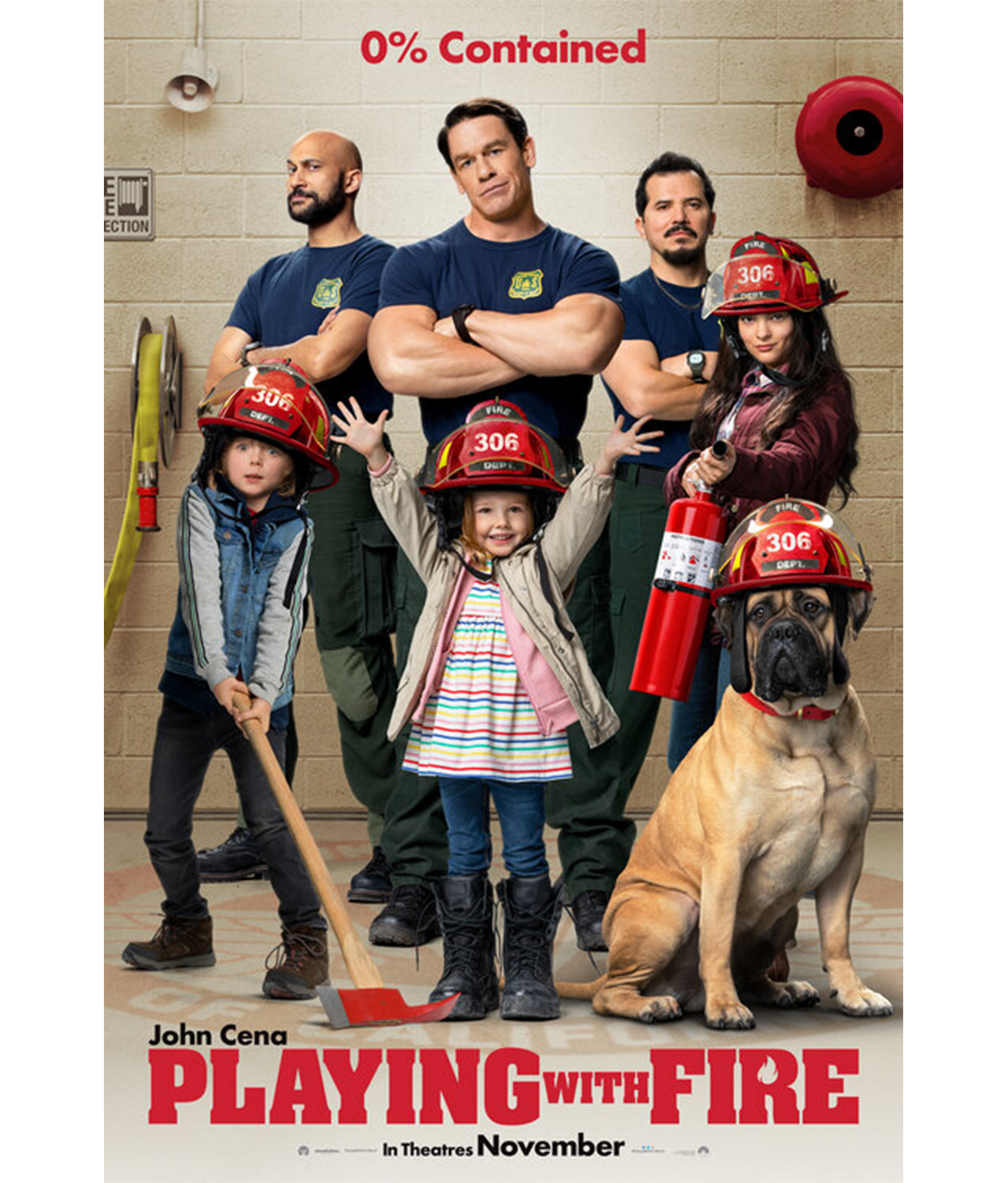 New original movie poster for John Cena's Playing With