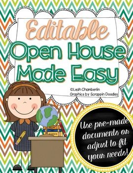 Open house made easy editable open house bts night pinterest open house made easy packet is a 31 page document and includes multiple editable documents stopboris Choice Image