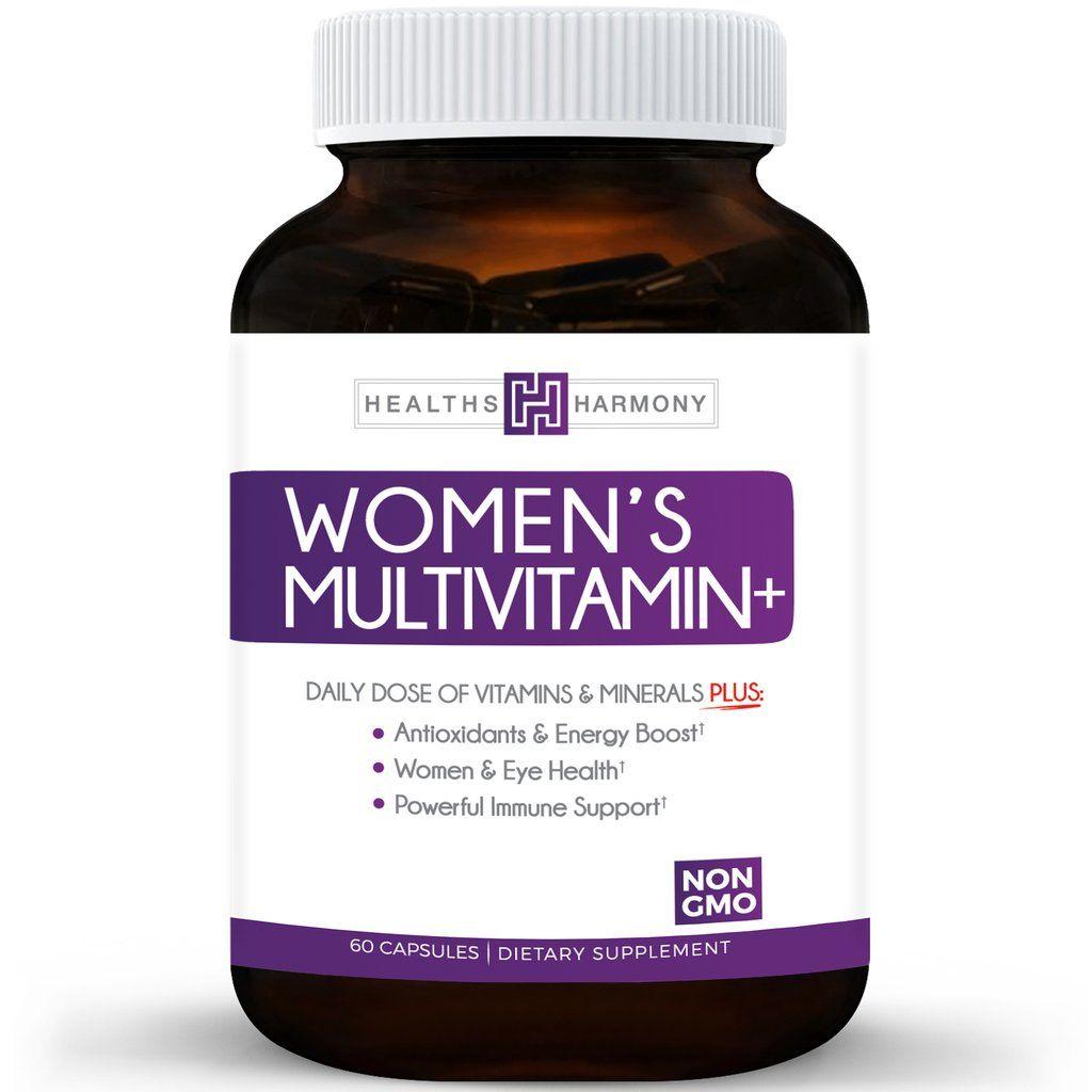 Women S Multivitamin Non Gmo Daily Vitamins Amp Minerals
