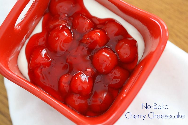 Delicious & Easy No Bake Valentine's Day Inspired Cheesecake Recipe