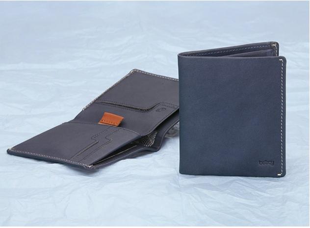 The Note Sleeve, slim wallet. World Class design.  http://bellroy.com/wallets/note-sleeve-wallet#blue-steel
