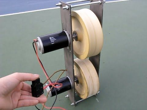 Tennis Ball Machine Diy Part 1 Tennis Ball Machines Tennis Ball Tennis