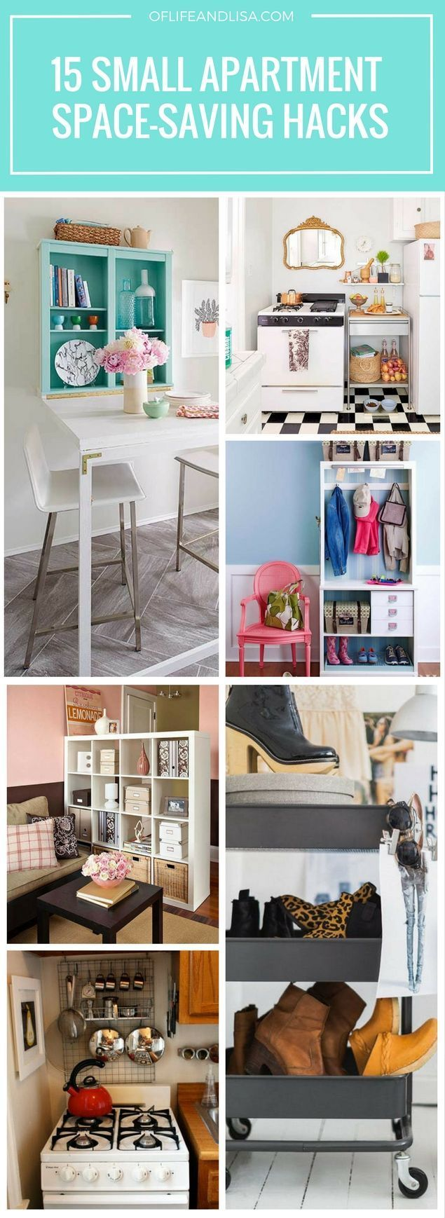 15 Cheap and Easy Small Apartment Hacks To Make Your Space ...