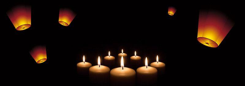 أخف جهاز شمعة لهب الخلفية Candles Birthday Candles Contact Lenses