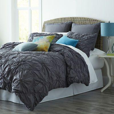 Savannah Duvet Cover Sham Charcoal Duvet Bedding Bed Duvet Covers