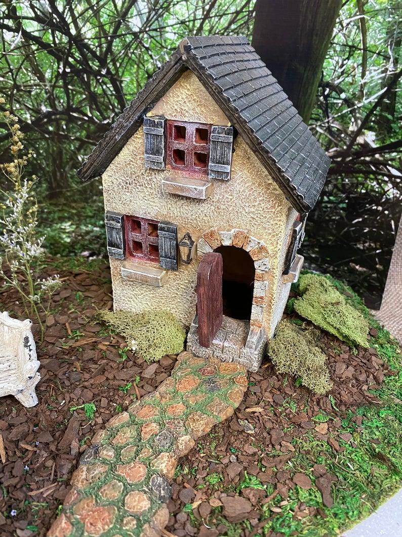 The Old Rectory Fairy Garden House Miniature Garden In 2020