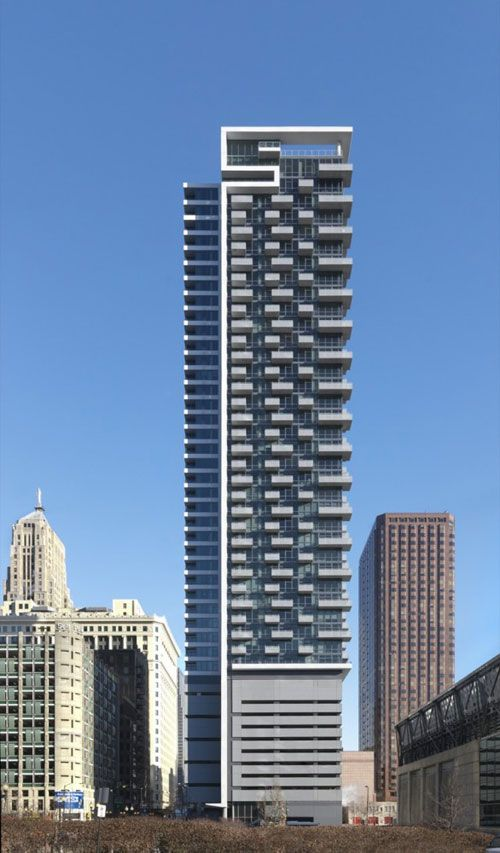 20 beautiful examples of residential architecture boston Modern residential towers