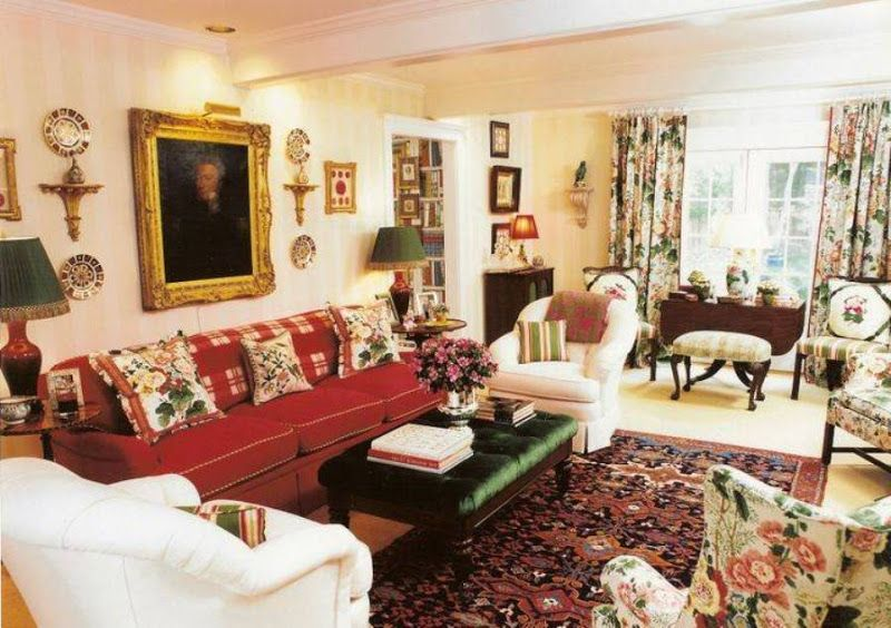 A Scrapbook of Me: English Cottage Home Decorating   new house color ...
