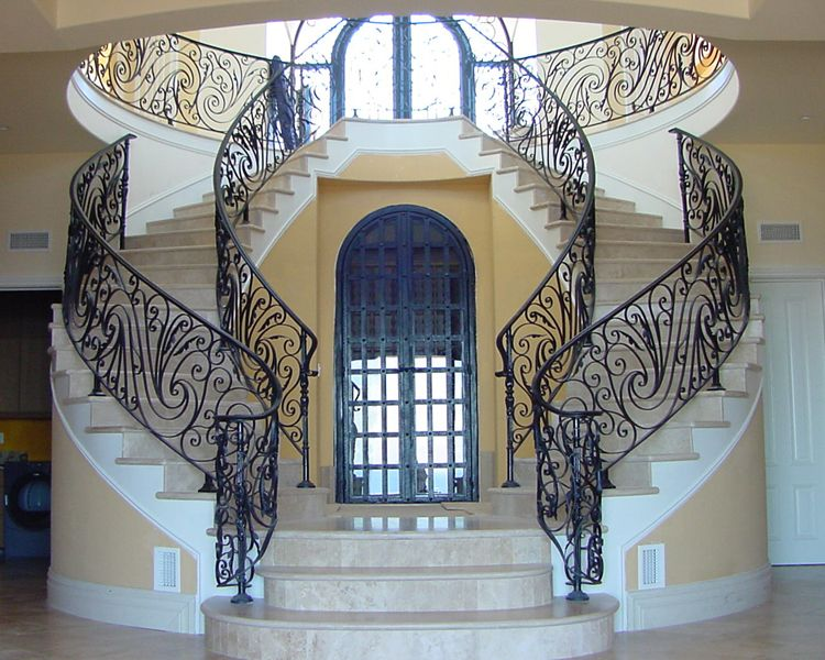 wrought iron railing parts lowes railings for stone steps rod front serving ca