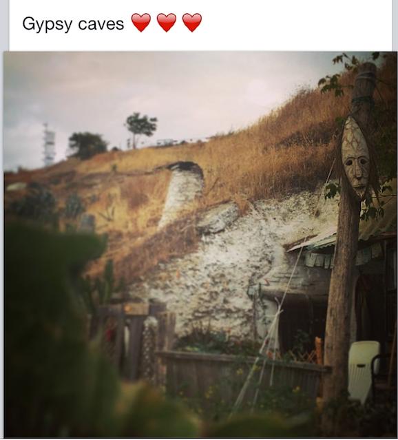 Mirador de San Nicolás Gypsy caves