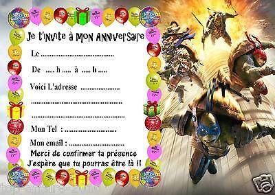 Maison Fetes Occasions Speciales 5 Cartes Invitation Anniversaire Winx 01 Fetes Occasions Speciales Autres