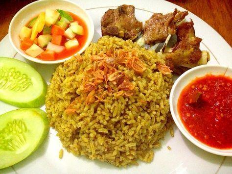 Resep Cara Membuat Memasak Nasi Kebuli Khas Arab Asli Resep Masakan Arab Resep Masakan Resep Masakan Asia