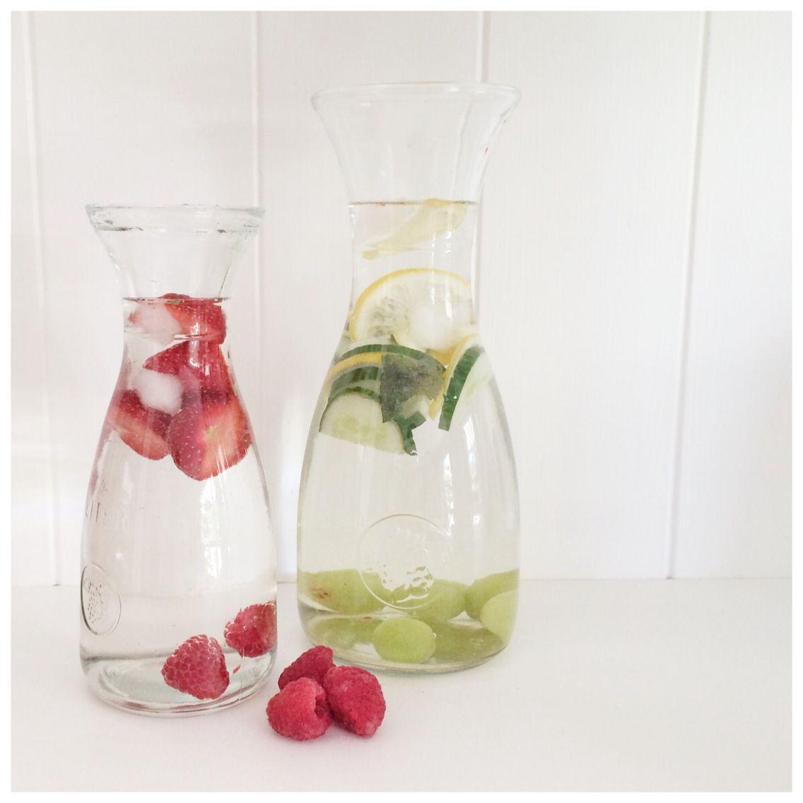 Heerlijk fris zomers drankje. Fruitwater. www.janetdevilee.blogspot.nl
